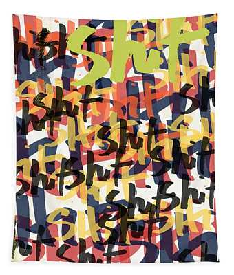 Tantrum- Art By Linda Woods Tapestry