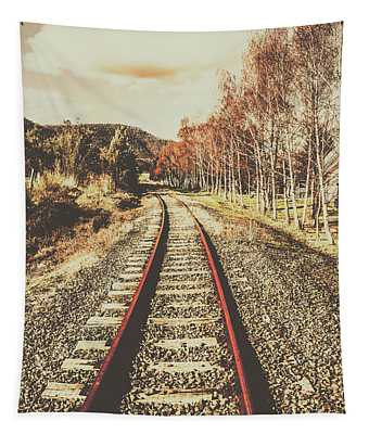 Tasmanian Country Tracks Tapestry