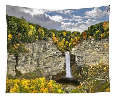 Taughannock Falls Autumn Tapestry