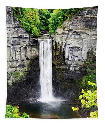 Taughannock Falls View From The Top Tapestry