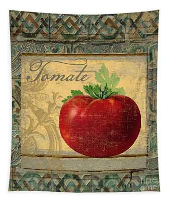 Tavolo, Italian Table, Tomate Tapestry