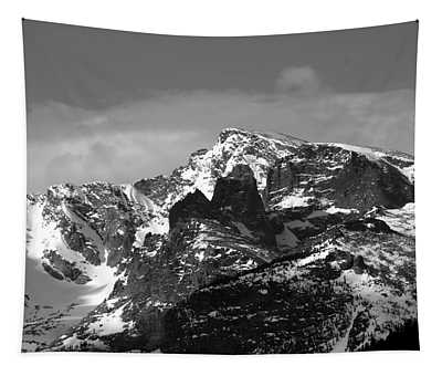 Tapestry featuring the photograph Taylor Peak by Perspective Imagery