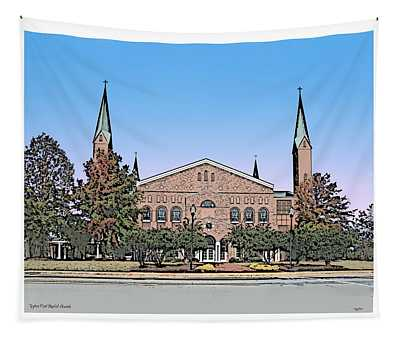 Taylors First Baptist Church Tapestry