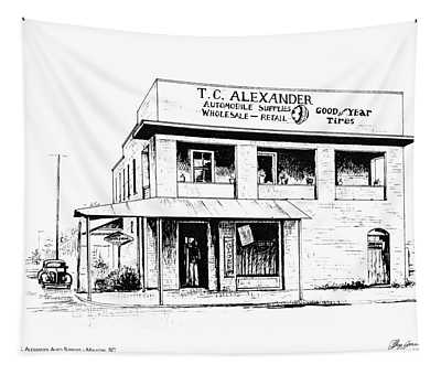 Tc Alexander Store Tapestry