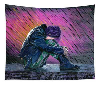 Tears In The Rain Tapestry