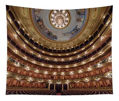Teatro Colon Performers View Tapestry
