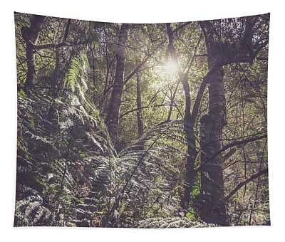 Temperate Rainforest Canopy Tapestry