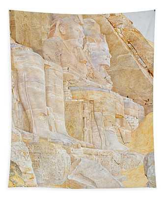 Temple Of Ramses II Tapestry