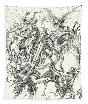 Temptation Of St Anthony  Tapestry