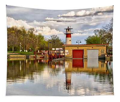 Tenney Lock - Madison - Wisconsin Tapestry