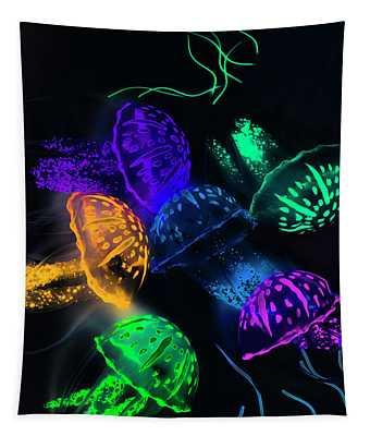 Tentacle Dance  Tapestry