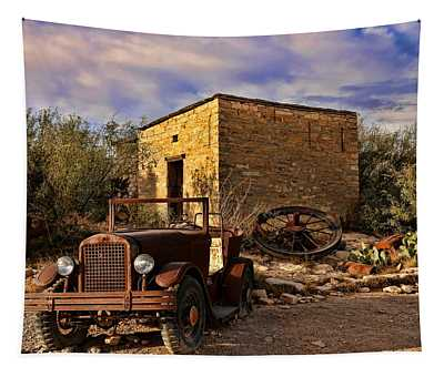 Terlingua Ghost Town 1 Tapestry