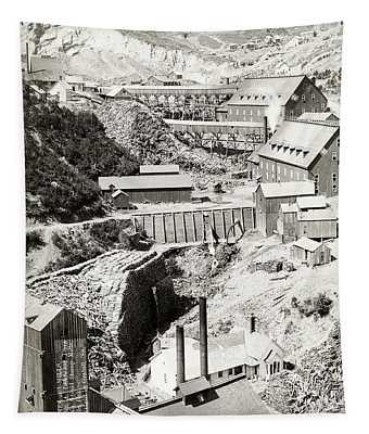 Terraville Mine And Lumber Area - Near Deadwood South Dakota Tapestry