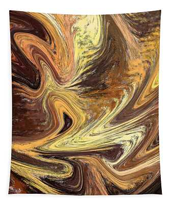 Terrestrial Fire Abstract Tapestry