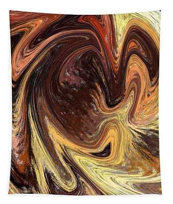 Terrestrial Vortex Abstract Tapestry