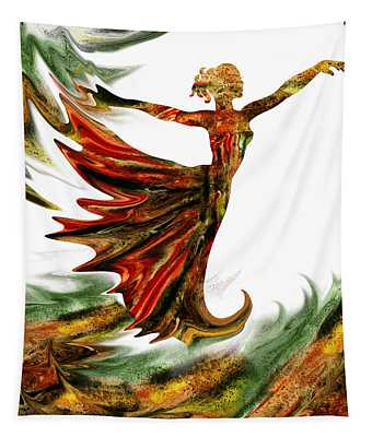 Terrestrial Wind Dance Tapestry
