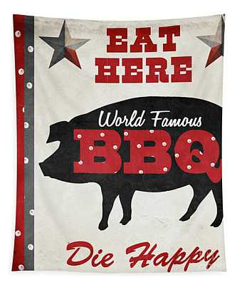 Texas Barbecue II Tapestry