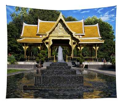 Thai Pavilion - Madison - Wisconsin Tapestry