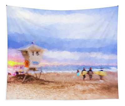 That Was Amazing Watercolor Tapestry