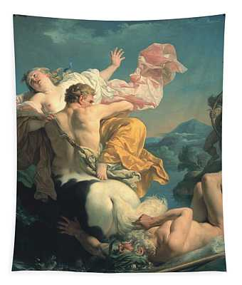 The Abduction Of Deianeira By The Centaur Nessus Tapestry