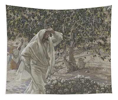 The Accursed Fig Tree Tapestry