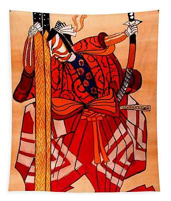 The Age Of The Samurai 04 Tapestry