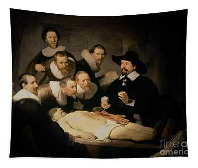 The Anatomy Lesson Of Doctor Nicolaes Tulp Tapestry