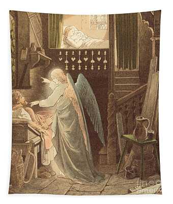 The Angel Appearing To Joseph Tapestry
