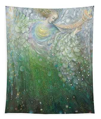 The Angel Of Growth Tapestry
