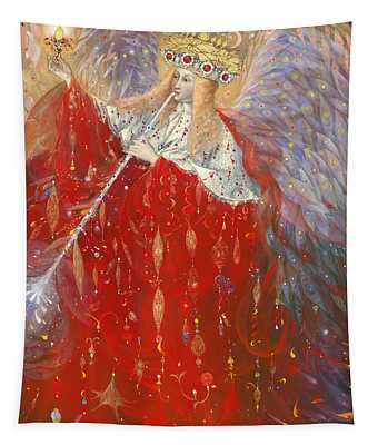 The Angel Of Life Tapestry