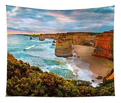 The Apostles Sunset Tapestry