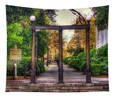 The Arch University Of Georgia Arch Art Tapestry