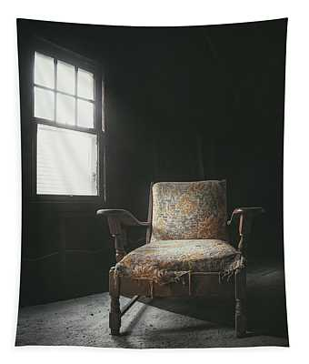 The Armchair In The Attic Tapestry