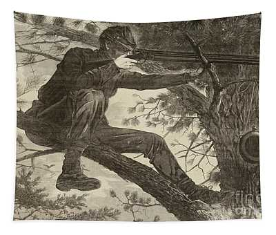 The Army Of The Potomac  A Sharpshooter Tapestry
