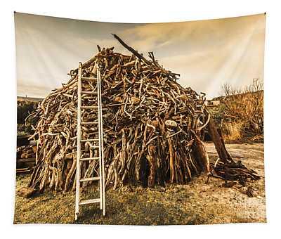 The Art Of Bonfires Tapestry