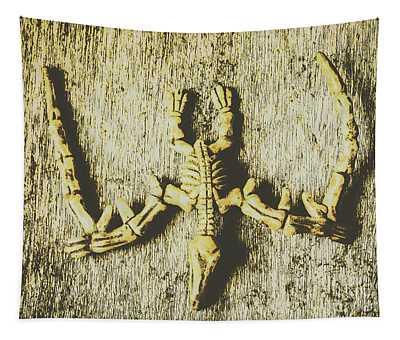 The Art Of Dinosaur Birds Tapestry