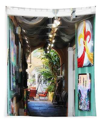 The Art Of New Orleans Tapestry