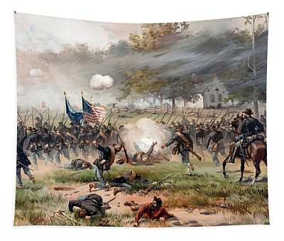 The Battle Of Antietam Tapestry