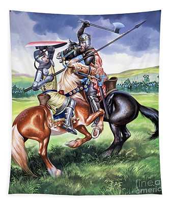 The Battle Of Bannockburn Tapestry