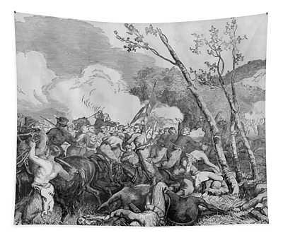 The Battle Of Bull Run Tapestry
