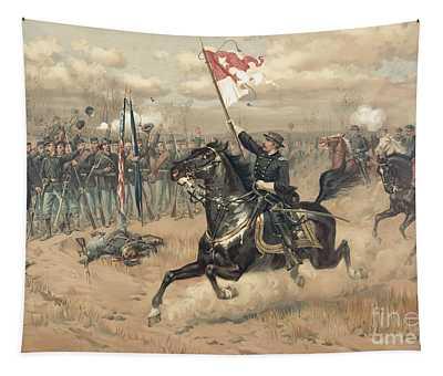 The Battle Of Cedar Creek Virginia Tapestry