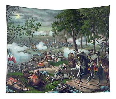 The Battle Of Chancellorsville Tapestry