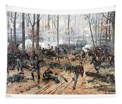 The Battle Of Shiloh Tapestry
