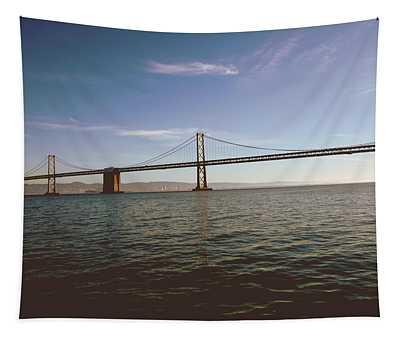 The Bay Bridge- By Linda Woods Tapestry