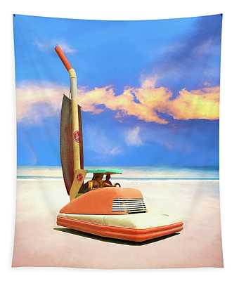 The Beachcombers Tapestry