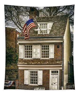 The Betsy Ross House Tapestry