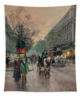 The Big Boulevards Tapestry