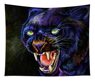 The Black Panther Tapestry