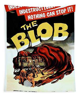 The Blob  Tapestry