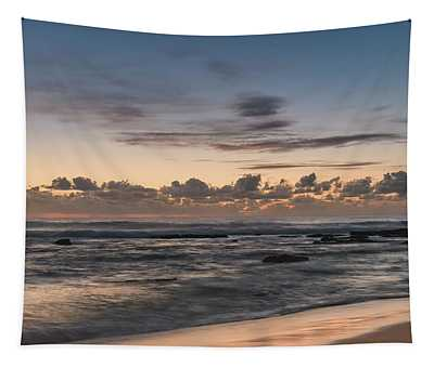 The Blues - Sunrise Seascape  Tapestry